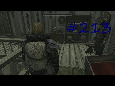 Skyrim Remastered HD Let's Play Folge 213 Die Dunkle Bruderschaft #Rucksack