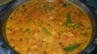 Tomato Pappu - Telugu Recipes - Andhra  Vantalu - Indian Vegetarian Recipes