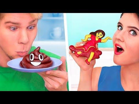 11 DIY Emoji Food Recipes / How To Make Emoji Donuts