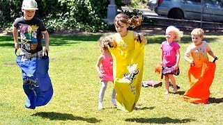 Field Games and sports ideas for kids party