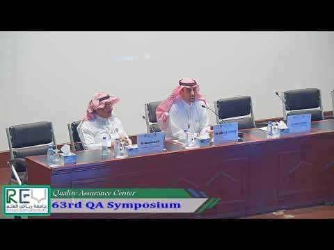 63rd QA Symposium - Part 1