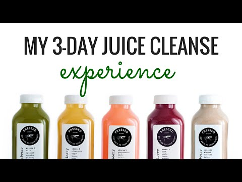 Video My 3-Day Juice Cleanse Experience