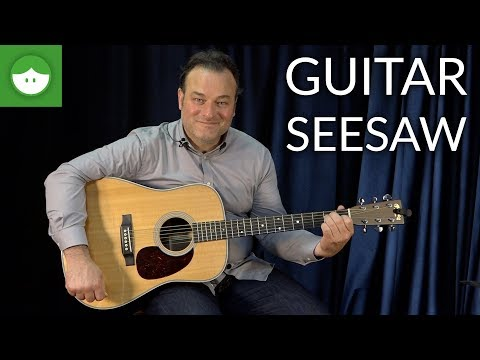 Daily Warm-Up for Beginner Guitar: the Seesaw Exercise