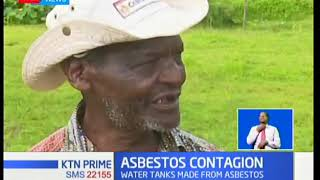 Lessos  residents living in fear after consuming water containing asbestos