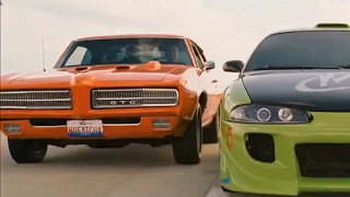 '69 GTO The Judge vs. '95 Eclipse 2G