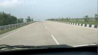 preview picture of video 'NH37 four lane model in assam'