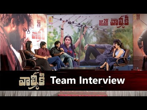 valmiki-movie-team-interview