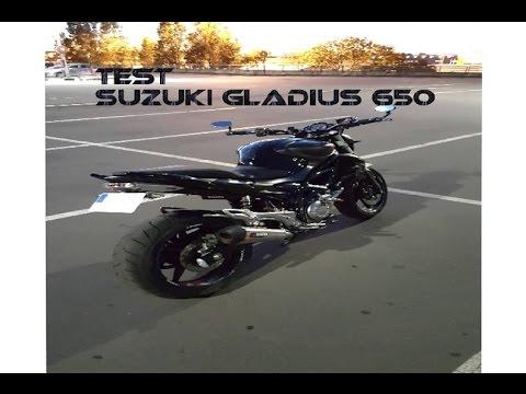 SUZUKI SFV 650 GLADIUS S2 CONCEPT 1ER MAIN
