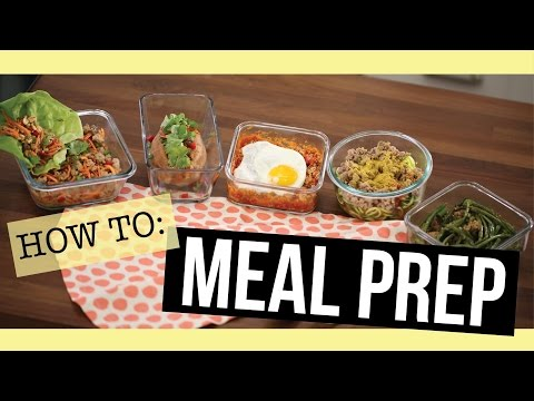 Video 5 Easy Meal Prep Recipes - all 28 Day Reset approved!