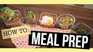 5 Easy Meal Prep Recipes - All 28 Day Reset Approved!
