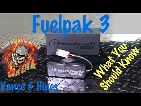 Fuelpak 3 Motorcycle Electronic Fuel Injection EFI Tuner Vance & Hines | Install Tutorial Mp3