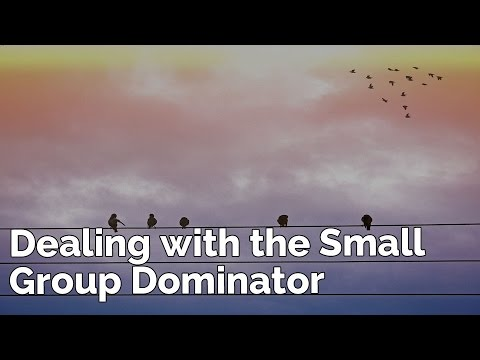 Dealing with the Small Group Dominator