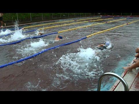 種子島の学校活動:岩岡小学校校内水泳大会