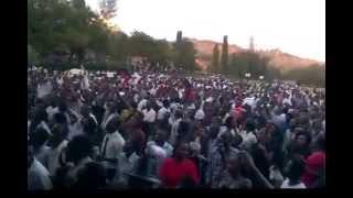 preview picture of video 'The Alfred Makotsi Kamukunji at Maseno University Kenya'