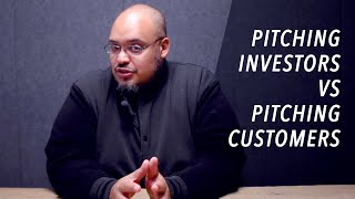 How Pitching Investors is Different Than Pitching Customers - Michael Seibel