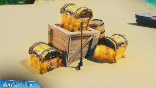 Search Chests Within 30 Seconds Of Each Other Easy Guide   Fortnite (Smash & Grab Challenge)
