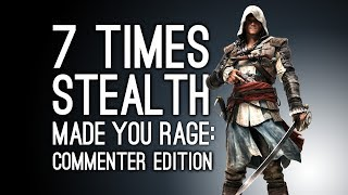 7 Times Stealth Made You Rage: Commenter Edition