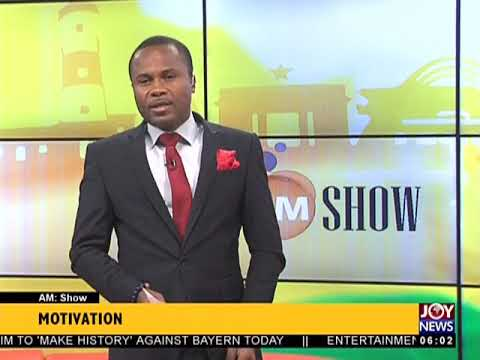 AM Show Intro on JoyNews (4-4-18)