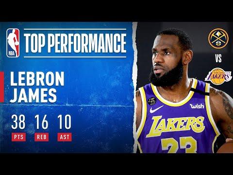 LeBron James pour une 10ème finale NBA