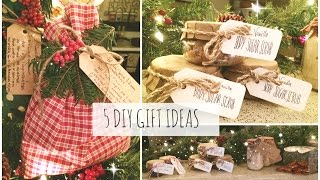 5 DIY Christmas Gift Ideas! Easy & Affordable | SoJustine