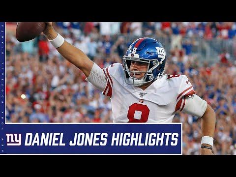Daniel Jones Highlights from First Half of Season