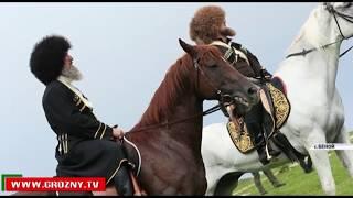 Рамзан Кадыров вместе со своими соратниками побывал в Ножай-Юртовском районе