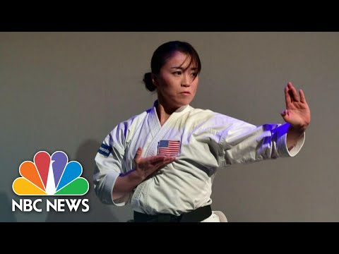 U.S. Olympian Sakura Kokumai Speaks Out After Anti-Asian Hate Attack | NBC Nightly News