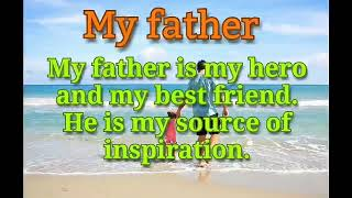my father the hero essay