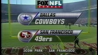 NFL on FOX - 1997 Week 10 Cowboys vs 49ers - Game intro