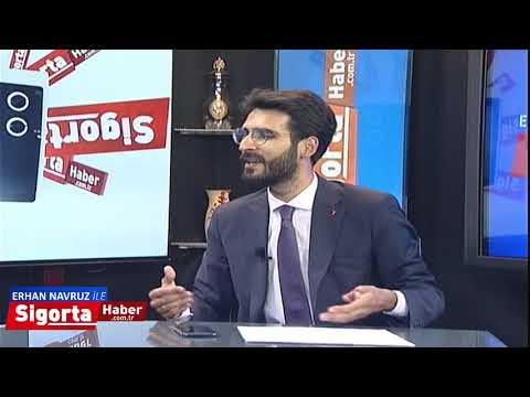 Sigorta Haber TV - Konuk: SAİK Başkanı Levent KORKUT