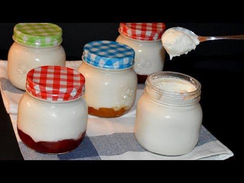 Comment faire un yaourt maison sans yaourtière - Recette yogourt FACILE