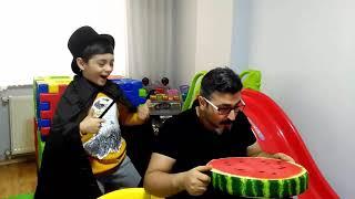 Cute Magic prince and Dad  / fuuny kid videos