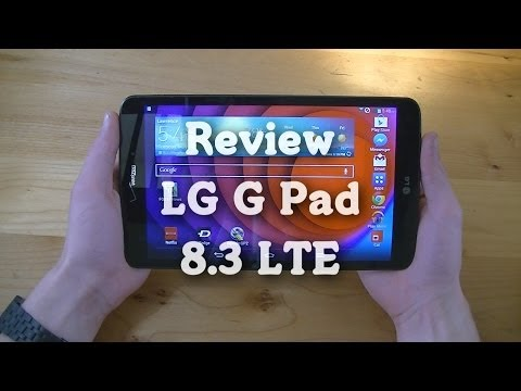Review: LG G Pad 8.3 LTE