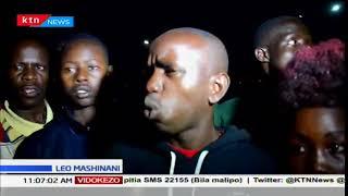 Wafanyibiashara wa Kitale wapata hasara kubwa baada ya moto mkubwa kutekezeta vibanda vya biashara