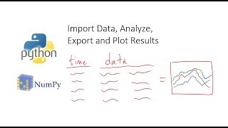 Import Data, Analyze, Export and Plot in Python