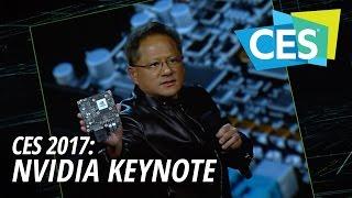 CES 2017: NVIDIA Keynote