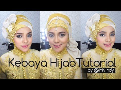 Video Kebaya Hijab Tutorial by IniVindy | Hijabstyle ke Pesta