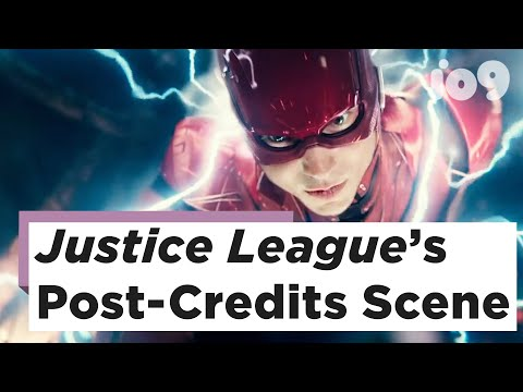 Justice League's Post-Credit Scene Is One Hell Of A Tease