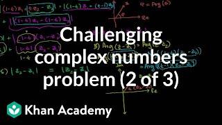 IIT JEE Complex Numbers (part 2)