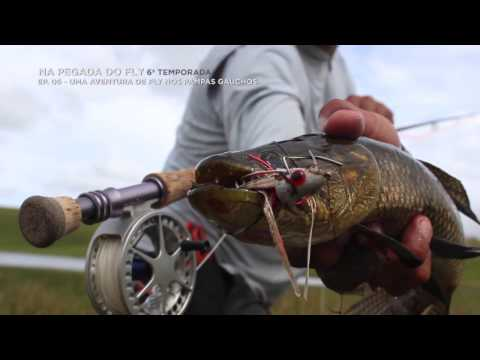 Pesca com mosca nos pampas gaúchos do Brasil!