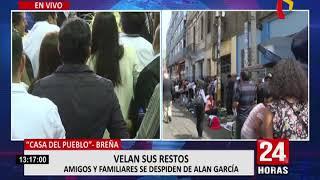 Alan García: continúa masivo velatorio en la Casa del Pueblo (3/3)