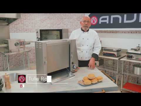 See our vertical bun toaster in action
