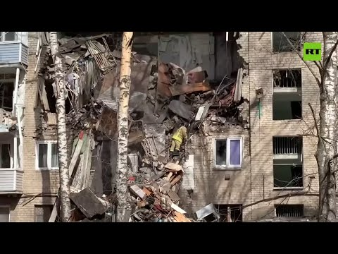 5 floors reduced to rubble | Gas explosion in Moscow region