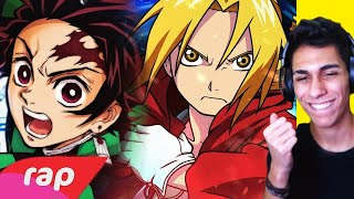 ASSISTINDO AO RAP DO EDWARD ELRIC E TANJIRO Do 7 MINUTOZ ‹ Ine Games ›