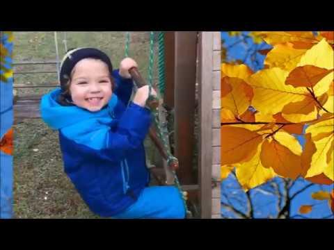 Новое  от Максима Галкина- Осенние красоты Замка и Осень прошлого года с Лизой и Гарри.