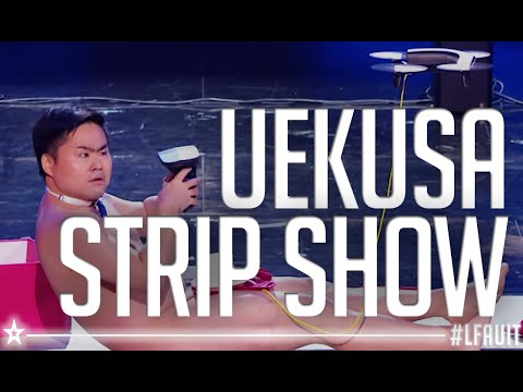 UEKUSA'S STRIP SHOW  | live final | France's got talent 2018 (видео)