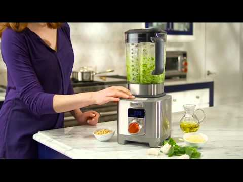Wolf Blender ICBWGBL100S-UK - Stainless Steel / Red Knob Video 1