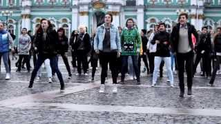 K-pop Flashmob 2013 in Russia St. Petersburg