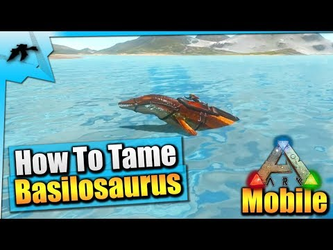 How To Tame A Basilosaurus(EASY!)- Ark Survival Evolved Xbox One