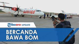 Buntut Bercanda Bawa Bom di Koper, Ibu-ibu Penumpang Wings Air Harus Berurusan dengan Polisi